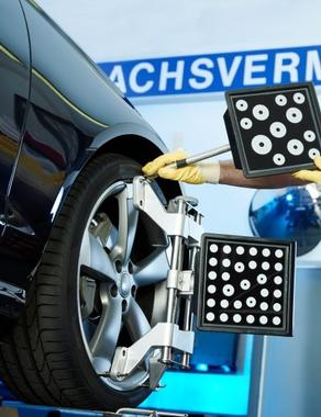 Achsvermessung Reifen Widholzer