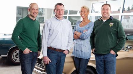 Familiengeführt in 3. Generation - Florian, Otto, Angelika und Markus Widholzer